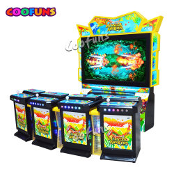 4 لاعبين Coin لعبة الأسماك لعبة بلياردو اللعب الممرات صيد الأسماك الصياد الماكينة