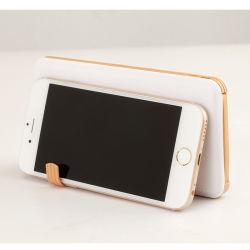 Ультра тонкий мобильный телефон 10000mAh карты Банка питания с телефона зарядный кабель USB подставки