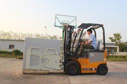 Nuevo carro eléctrico de 1,5 toneladas de cartón con la abrazadera