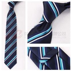 Venda por grosso de seda de moda logotipo personalizado de retenção escolar Gravatas Logotipo personalizado
