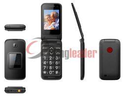 """2.4"""" Tela Dupla GSM Flip Phone Sênior (W30)"""