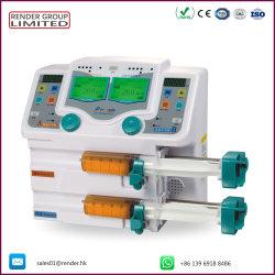 Один двойной автоматической Multi-Channels Micro инфузионного насоса ветеринарных