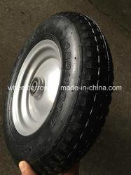農業のツール4.00-8の空気タイヤの手押し車のタイヤ