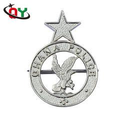 Los fabricantes chinos al por mayor de muestras gratis hacer especial diseño personalizado de la marca de metal 3D coche insignias logotipos insignia