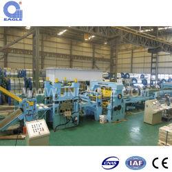 Promoções mensais da bobina de aço Rotary Corte rente à linha de Comprimento da máquina de Cisalhamento