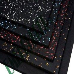 La Chine fabricant de revêtements de sol en caoutchouc de tuiles de caoutchouc Tapis en caoutchouc pour le Fitness Salle de Gym de plancher de caoutchouc