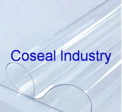 ورقة بلاستيكية شفافة من البلاستيك PVC/حصيرة طاولة كريستالية ناعمة
