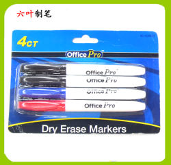 4pk Whiteboard Marker Pen, Stationery, Dry Erase Markers