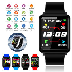 Новый завод моды Bluetooth водонепроницаемый Поддержка Спорт F1 Smart Watch GPS Tracker длительное время ожидания