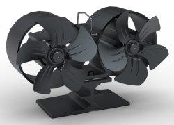 De tweeling Ventilator van het Fornuis van het Blad