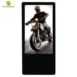 Táctil interactiva de suelo de 32 pulgadas LCD Digital Signage Media Player