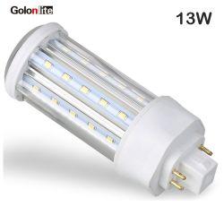 preço de fábrica CE 10W PL lâmpada LED G24D 2 Pinos G24q 4 Pinos levou PLC