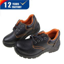 Coupe basse personnaliser Split en cuir gaufré Semelle PU travailler des chaussures de sécurité utilisés dans le site de construction de protéger vos pieds