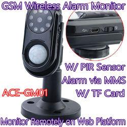Smart Photo alarma MMS GSM de la cámara de vigilancia de seguridad inalámbrica en casa Monitor Anti-Burglar PIR W/ Seguimiento en línea