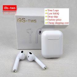 De in het groot Ware Hoofdtelefoon van de Oortelefoon van Tws I9 Mini Draadloze Earbuds Bluetooths met het Laden van Geval