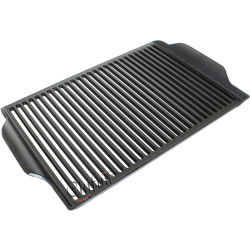Kundenspezifisches Eisen-Grill-Gitter der BBQ-Platten-Ht250 mit Decklack