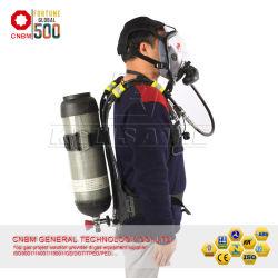 2.4L 200bar 화재 싸움 안전 장치 탄소 실린더 자체완비호흡기구