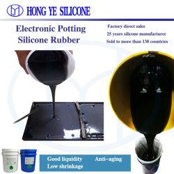 Échantillon gratuit de haute qualité et de rempotage bonne adhérence de composants électroniques d'étanchéité RTV2 Usine de caoutchouc de silicone liquide