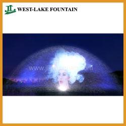 Fonte de tela de água para filme, vídeo, fotografia, projecção laser