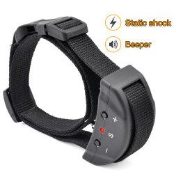 Venda a quente Anti sem casca Barking Remote choque eléctrico remoto de vibração cão de estimação do colar de treinamento