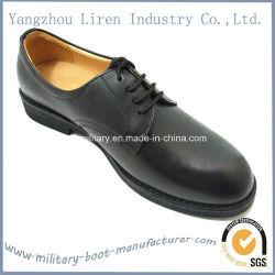 Estilo italiano negro Oxford Zapatos de Vestir