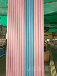 WPC junta de plástico madera Panel de pared: gran panel de ronda