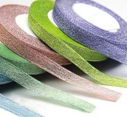 Het aangepaste MetaalLint van het Fluweel, kleurt MetaalLint, Kolorowa Wstazka