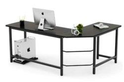 Moderner einfacher Büro-Möbel-Ecken-Computer-Schreibtisch