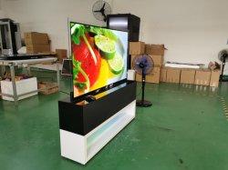 Slim ultradelgado LCD de pantalla OLED transparente de Digital Signage y muestra la pantalla de los jugadores Publicidad