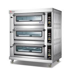 베스트 가격 에그 타르트 오븐 빵 베이커리 가스/전기 사용 3 데크 베이커리 오븐