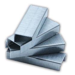 安くて高品質なステイプラステイプルシルバーカラーオフィス、亜鉛メッキ #10 ステープルピン