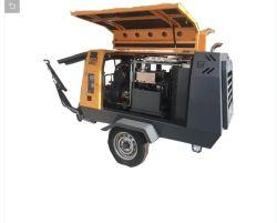 550Rh 15.5m3/min 17bars à la mi-pression compresseur à vis diesel portable