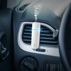Scente Custom Logo Elektrische luxe parfum auto Air Freshener diffuser Ultrasone automatische Aroma Olie spray Car Freshener Vent Clip