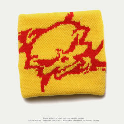 Im Freiensport-Gebrauch gestickter Terry-TuchWristband