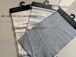 Écologique doux et confortable Y/D Plain de toile de lin pur Zmyd 3006 Linge de maison pour le rembourrage de textiles pour la litière