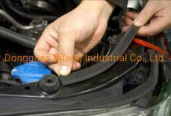 RubberUitdrijvingen van /Automotive van de Auto van de Weerstand van het Blok van het Lawaai van de Wind van de Samenstelling van het Lawaai van de wind de Blok Aangepaste Auto Correcte