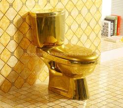 sulla toletta europea dell'oro del lavabo della famiglia della toletta dell'oro della toletta KTV dell'oro di vendita per la stanza da bagno
