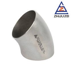 Труба из нержавеющей стали нажмите кнопку установки 45 градусов разъем колена