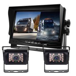 차량 모니터 트럭 모니터 모니터를 반전하는 쪼개지는 화면 표시 모니터 7inch 쪼개지는 전시