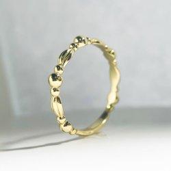 مجوهرات فضية O/D 18K الذهب Plated الكلاسيكية Sterling فضة حلقة