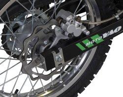 Motorcyle con 128 Kg de peso en seco y el aire de refrigeración de aceite+