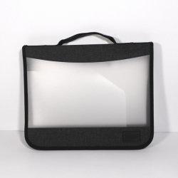 Мужчины Женщины ясно PP водонепроницаемый деловой встречи держатель документов портфель