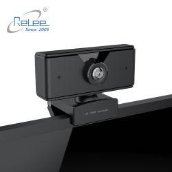 Computer HD 1080P Webcam met de Camera van het Web van de Microfoon USB voor de VideoVergadering van het Confereren van de Opname
