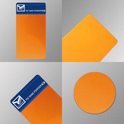 Revêtement en poudre époxy polyester industriel pour le métal.