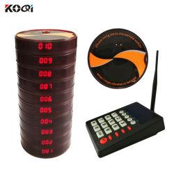 Официант звуковой сигнал вызова ресторан Wireless Coaster пейджер системы