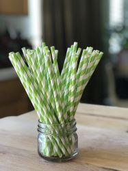 Non-Toxic прочный и стильный питьевой бумаги трубочки заводе оптовая и основная часть