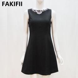 2021 späteste Art-Form-Frauen-Kleid-Damen, die Kleid-Abend-Kleid bördeln