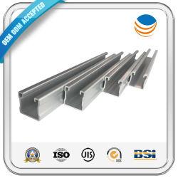 قناة Unistrut Unistrut من الفولاذ المقاوم للصدأ / قناة U / أسعار قناة C.