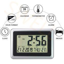 Кухня температуры на дисплее Super большой цифровой будильник с работать от батареи для дома декоративные