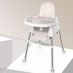 PU 방석을%s 가진 3 In1 다기능 어린이 식사용 의자